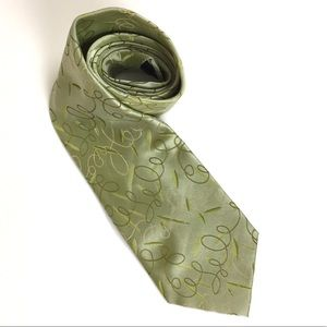 Gucci Mint Green Tie Hand Made 100% Silk
